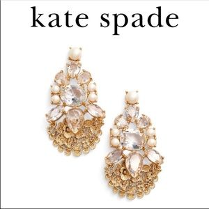 Kate Spade Chantily Gems Drop Earrings